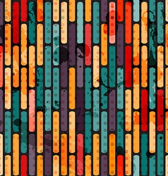 abstract grunge line seamless vector image vector image