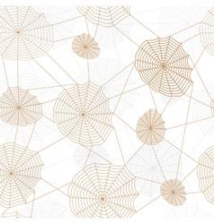 Spider retro web network vector image vector image