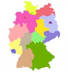 Deutschland vector image
