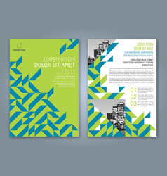 Cover annual report 849 vector
