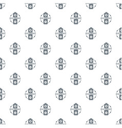 eco battery pattern seamless vector image