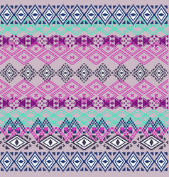 ethnic tribal geometric pattern vector image