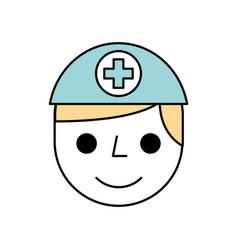 Nurse avatar staff clinical people profesional vector