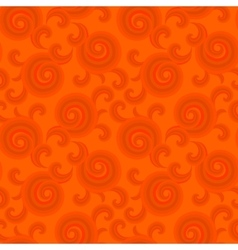 Seamless pattern with curls and swirls vector