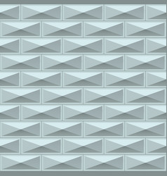 White tiles texture seamless pattern vector