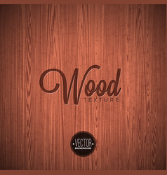 wood texture background design natural dark vector image
