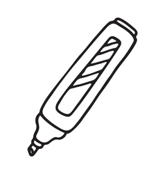 Marker pen icon vector image vector image