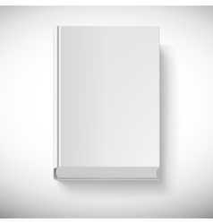 Blank book drawn in perspective vector image vector image