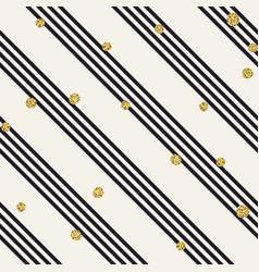 diagonal black lines on white background golden vector image vector image