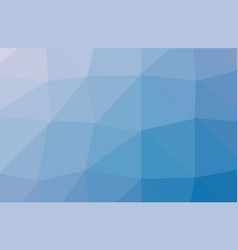 blue polygonal which consist of triangles vector image
