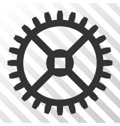 Clock Gear Icon vector
