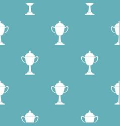 Cup award pattern seamless vector