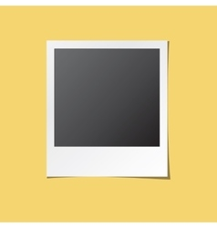Instant Photo Frame Isolated vector image
