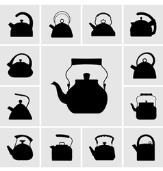 Kettles vector image vector image