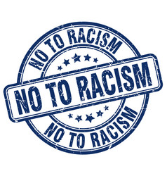 No to racism vector