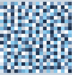 Square pixel art pattern seamless background vector
