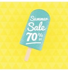 Summer sale 90 per cent off vector