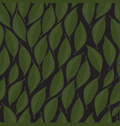 White seamless texture with green vector