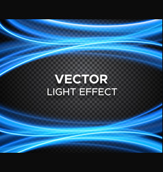 light effect on checkered background vector image