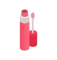 Liquid lipstick icon isometric 3d style vector image
