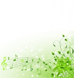 spring song background vector image vector image