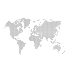 World-map dotted vector