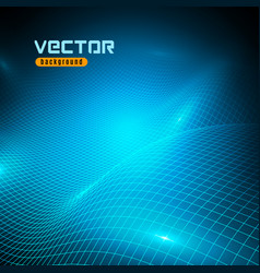 3d mesh background vector image