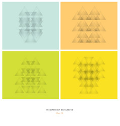 abstract gray transparency geometry vector image