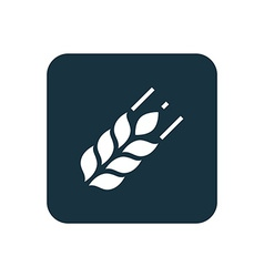 Agriculture icon Rounded squares button vector image