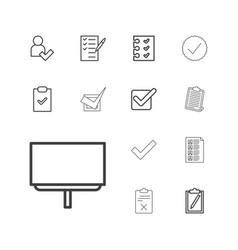 Checkmark icons vector