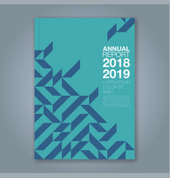 Cover annual report 859 vector