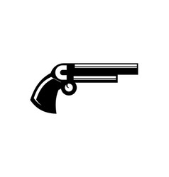 guns logo template vector image