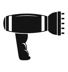 hair dryer icon simple style vector image