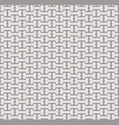 halloween spooky bone pattern vector image
