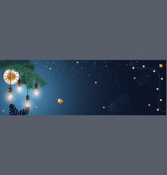 happy new year 2019 creative background vector image