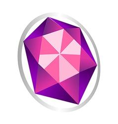 icon jewel vector image