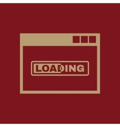 Loading icon design loading symbol web vector