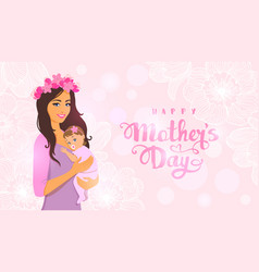 Mom day vector