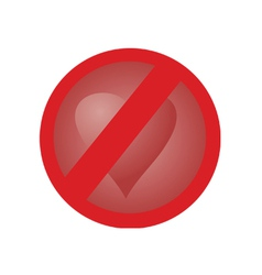 no love vector image