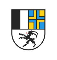 Swiss canton coat arms switzerland heraldry vector