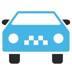Taxi Car Eps Icon vector image