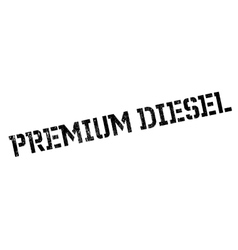 Premium Diesel rubber stamp vector image