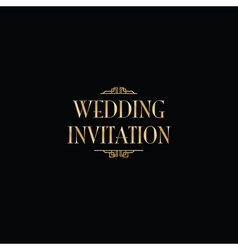 Art deco gatsby wedding invite royalty free vector image art deco gatsby wedding vector image stopboris Image collections