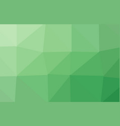 abstract light green polygonal mosaic background vector image