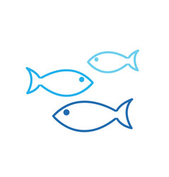 aquarium fishes vector image
