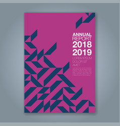 Cover annual report 863 vector