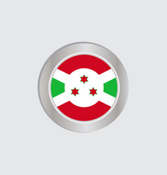 Flag burundi in official colors embed vector
