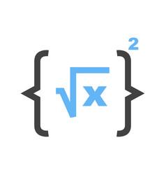 formula i vector image