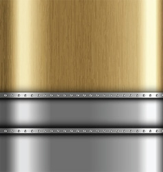 metallic background 1401 vector image