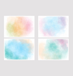 Pastel sweet cotton candy multi color gradient vector